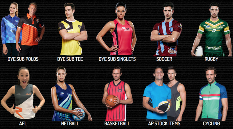 Custom Made Sportswear for Aussies